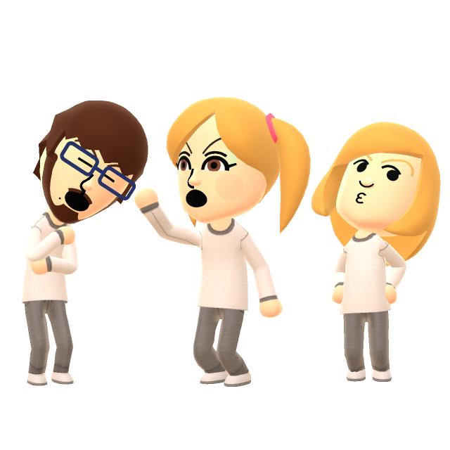 Meryll, Nanco & Larissa